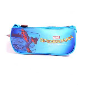 Penar Etui Triunghiular, Spiderman Albastru Deschis