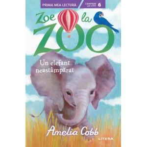 Zoe la ZOO. Un elefant neastâmpărat