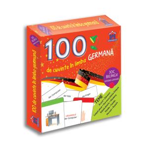 100 de cuvinte în limba germană - Joc bilingv