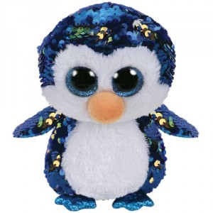 Pluș cu Paiete Pinguinul Payton (15 cm)