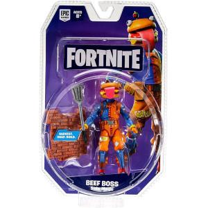 Fornite Pachet Cu 1 Figurină (Solo Mode Core Figure) - Beef Boss