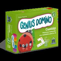 Genius domino - Cantități - Potrivirea numerelor și a cantităților până la 10