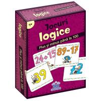 Jocuri logice - Plus și minus până la 100