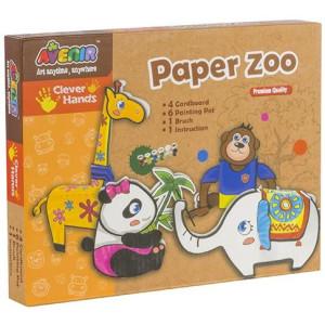 Joc creativ Momki Grădina zoologică din hârtie