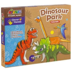 Joc creativ Momki Parcul dinozaurilor