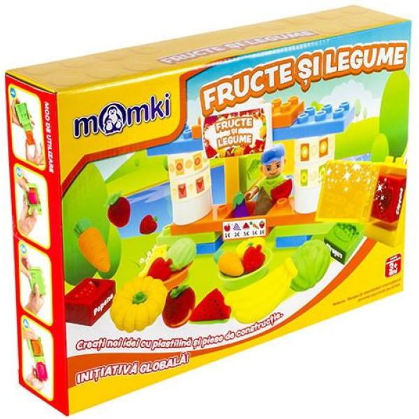 Joc interactiv Momki Fructe și legume