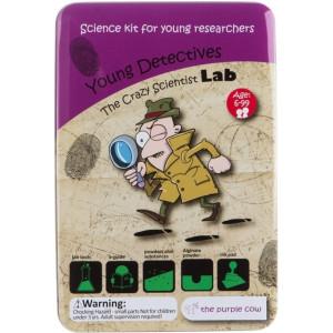 Laboratorul Savantului Trăsnit-Tinerii detectivi