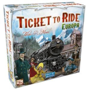 Joc Ticket to Ride Europa Asmodee