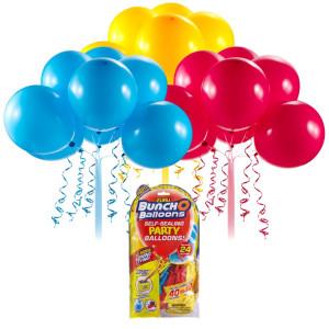 Bunch O Balloons Party Balloons Set Refill roșu/galben/albastru