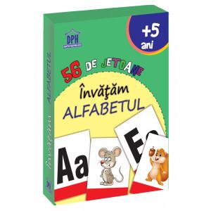 56 de Jetoane - Învățăm - Alfabetul