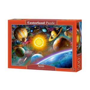 Puzzle Castorland Outer Space, 500 piese