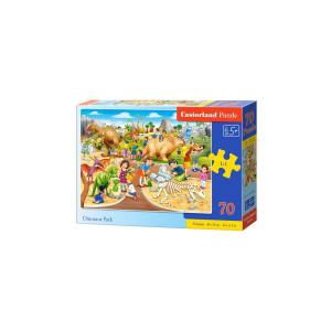 Puzzle Castorland - Dinosaur Park, 70 piese