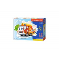 Puzzle Castorland - Fire Engine, 12 piese MAXI