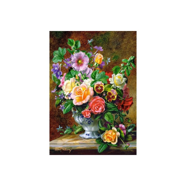 Puzzle Castorland - Flowers in a vase, 500 piese