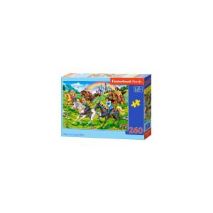 Puzzle Castorland - Princess Horse Ride, 260 piese