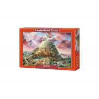 Puzzle Castorland - Tower of Babel, 3000 piese