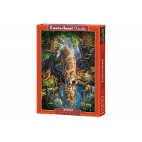Puzzle Castorland - Wolf In The Wild, 1500 piese