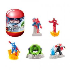 Figurină surpriză, Marvel în capsulă cu șnur