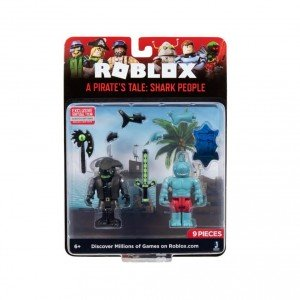 Roblox Blister 2 Figurine - A Pirate's Tale: Shark People