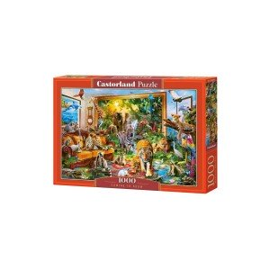 Puzzle Castorland Coming To Room, 1000 piese