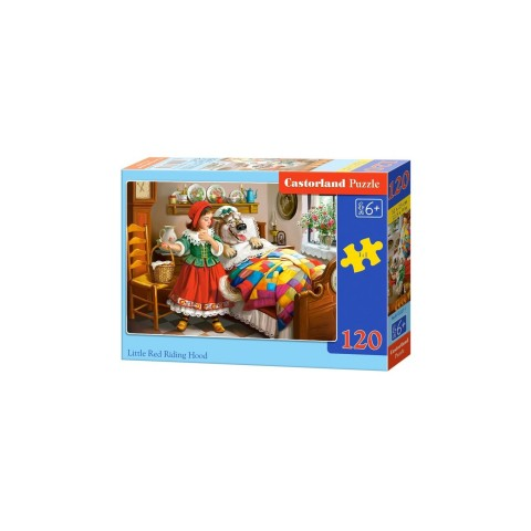 Puzzle Castorland - Little Red Riding Hood, 120 Piese