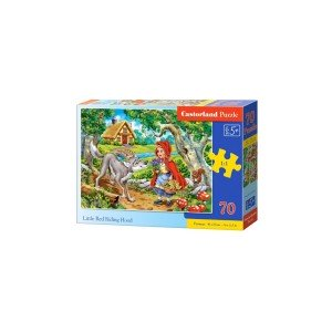 Puzzle Castorland - Little Red Riding Hood, 70 piese