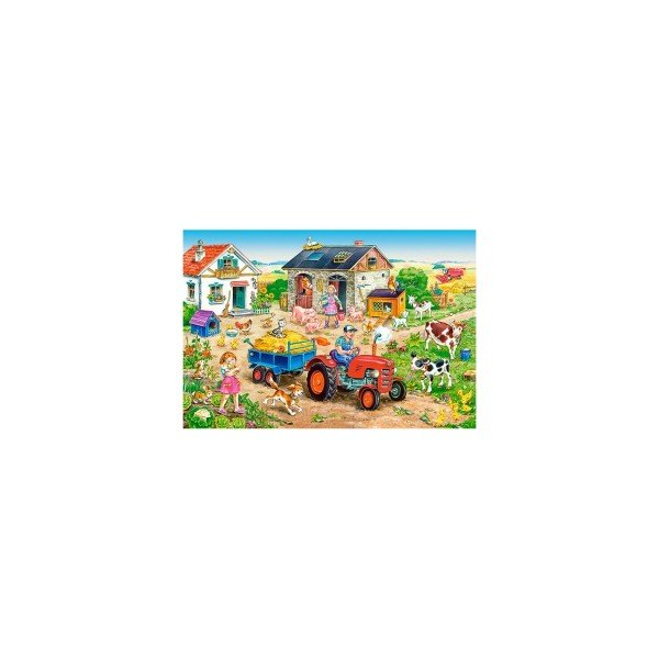 Puzzle Castorland Maxi - Life On The Farm, 40 Piese
