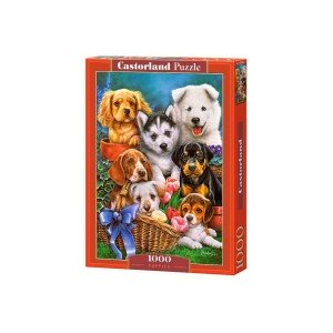 Puzzle Castorland - Puppies, 1000 piese