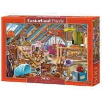 Puzzle Castorland The Cluttered Attic, 500 piese