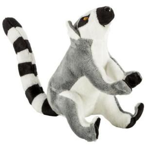 Jucărie de pluș MomKi Lemur 18 cm