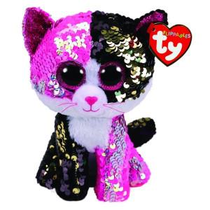 Pluș Cu Paiete Pisica Malibu,15 cm, Ty