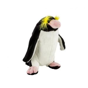 Pluș pinguin săritor, 20 cm, Momki