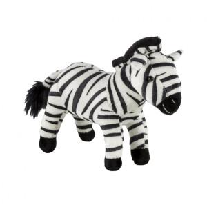 Pluș zebră Momki, 19 cm