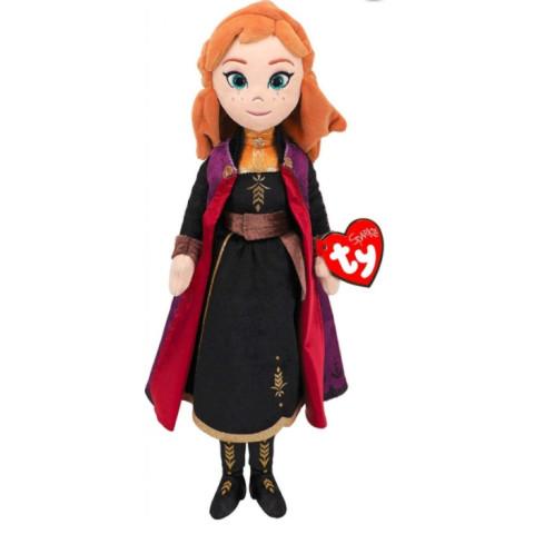 Prințesa Anna, Frozen 2, Pluș Cu Sunete, 40 Cm , TY