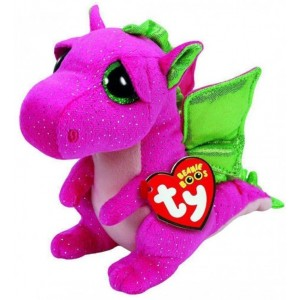 Pluș Dragonul Darla, 24 Cm, TY