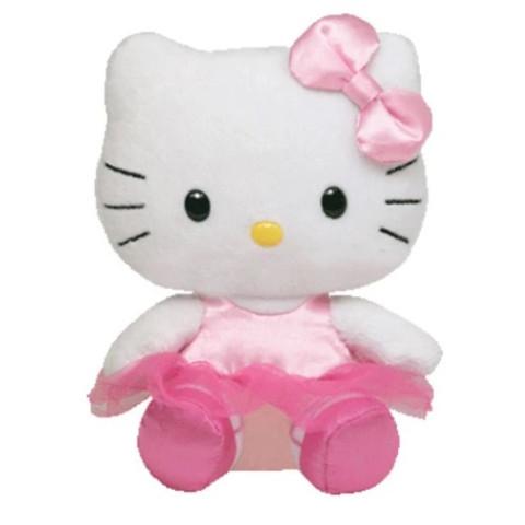 Pluș Hello Kitty Balerina, 15 cm, TY