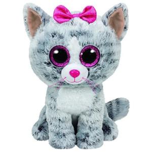 Pluș Pisica Kiki, 24 Cm, TY