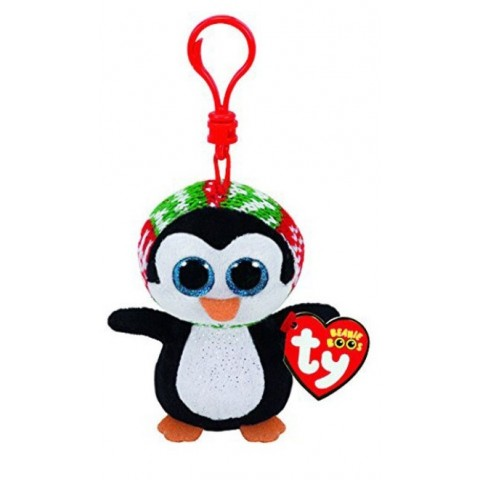 Breloc Pinguinul Penelope, 8.5 cm, TY