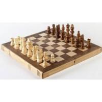 Joc Șah de lemn + 6 ani
