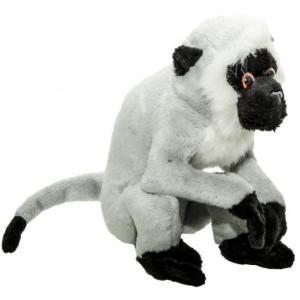 Jucărie de pluș MomKi Maimuță vervet 16.5 cm (Gri)