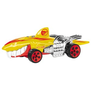 Mașinuță Hot Wheels - Sharkruiser, cu lumini și sunete, galben