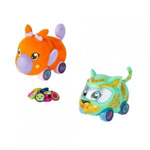Set 2 figurine vehicul, Ritzy Rollerz, Gaby și Cireșica