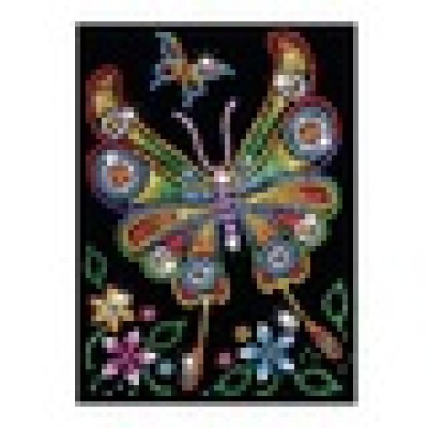 Set Creativ Red - Fluturele Amber,34x25cm, Sequin Art
