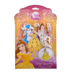 Set din lemn îmbracă prințesa, Belle, Disney