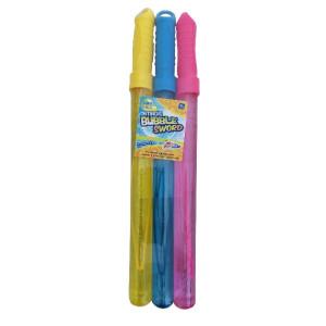 Set 3 Săbii Pentru Baloane, Bleu, Galben, Roz, Grafix