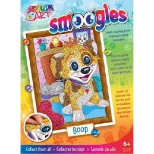 Set Creativ Smoogles - Catelusul Boop 25x34cm Sequin Art