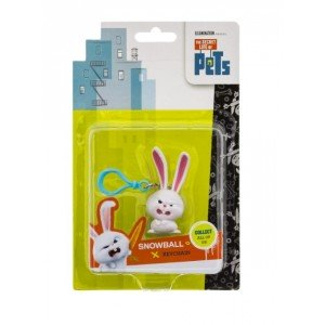 Figurină Breloc Snowboal Angry, The Secret Life Of Pets
