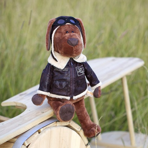 Cookie the Dog Aviator 25 cm