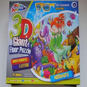 Puzzle Gigantic 3D De Sol Marmeids, Grafix