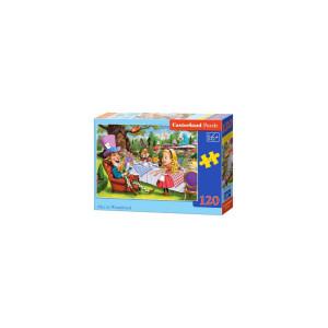 Puzzle Castorland - Alice In Wonderland, 120 piese